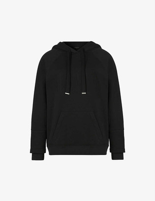 AllSaints Lucia organic-cotton and recycled polyester-blend hoody