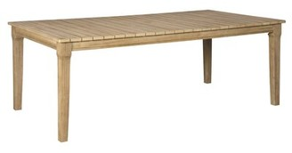 Nimmons Wooden Dining Table Greyleigh