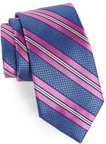 Nordstrom Men's Stripe Silk & Cotton Tie