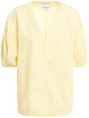 3.1 Phillip Lim Cotton-blend Poplin Top