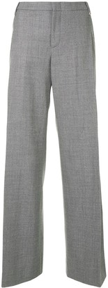 Gucci Pre Owned Wide-Leg Tailored Trousers