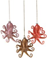 Cody Foster & Co Octopus Ornament Set