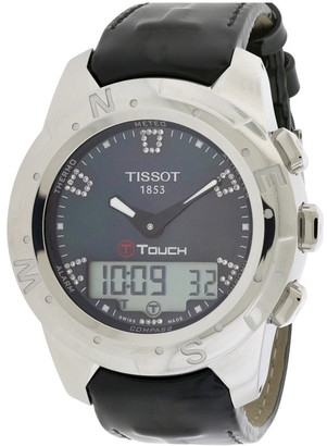 Tissot Women's T-Touch Ii Diamond Watch
