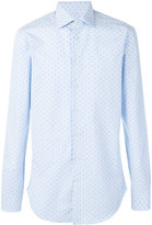 Etro stripe dash long sleeve shirt - men - Cotton - 39