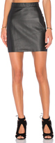AYNI Zarre Leather Skirt
