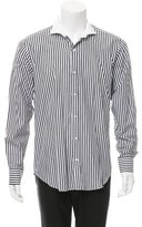 Simon Spurr Striped Woven Shirt