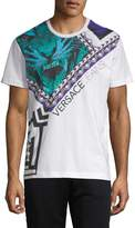 Versace Men's Graphic Logo T-Shirt