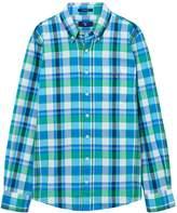 Gant Boys Madras Checked Shirt