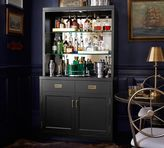 Pottery Barn Ken Fulk Mirrored Bar Cabinet