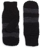 Saks Fifth Avenue Striped Mittens