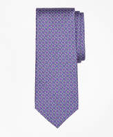 Brooks Brothers Square Link Print Tie