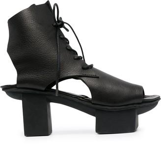 Trippen Mission 75mm lace-up sandals