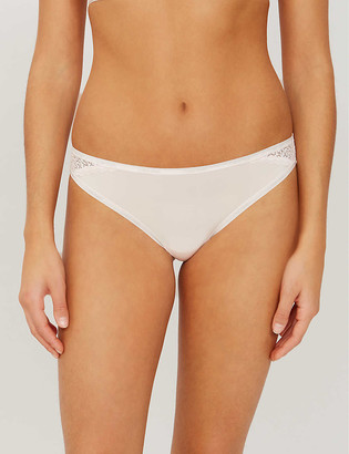 Calvin Klein Flirty stretch-jersey briefs