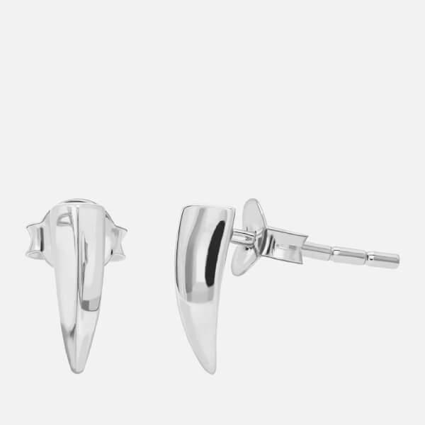 Missoma Women's Dagger Stud Earrings - Silver