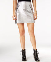 In Awe of You by Awesomeness TV Juniors' Metallic Mini Skirt