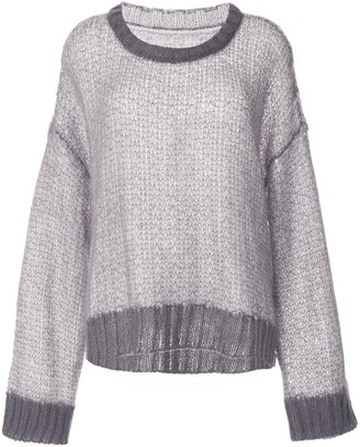 Maison Margiela loose knit jumper