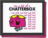 Mr Men & Little Miss Creative Tops Mr Men Little Miss Chatterbox Lap Tray, Multi-Colour