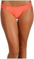 O'Neill Solid Braid Side Bottom (Grapefruit) - Apparel