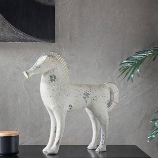 Madison Home USA Luke Gray Wash Ecomix Horse