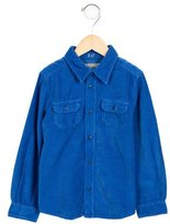 Bonpoint Boys' Corduroy Button-Up Shirt