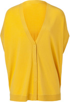 Steffen Schraut Sunflower Oversized Short Sleeve Cardigan