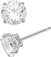 Swarovski Renaissance Collection 10k White Gold 3-ct. T.W. Stud Earrings - Made with Zirconia