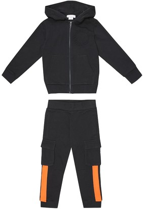 Stella McCartney Kids Cotton-blend tracksuit