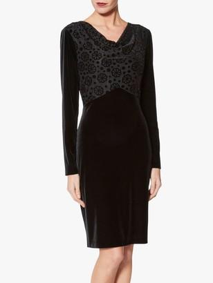 Gina Bacconi Katya Bodice Dress, Black