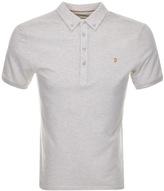 Farah Merriweather Polo T Shirt Cream