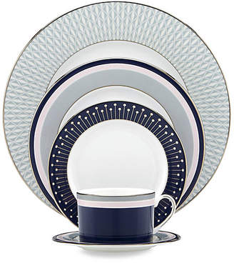 Kate Spade Mercer Drive 5-Piece Platinum-Accented Bone China Place Setting
