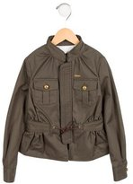 DSQUARED2 Girls' Utility Zip-Up Jacket w/ Tags