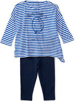Ralph Lauren Striped Boxy Top & Legging Set