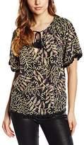 Gat Rimon Women's Short Sleeve Blouse - Multicoloured - 8