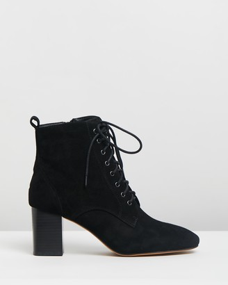 Mollini Stream Suede Ankle Boots