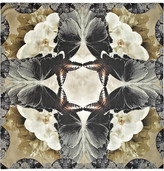 Athena Procopiou The Attracting Orchids printed silk-twill scarf