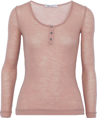 Alexander Wang Ribbed Wool Top