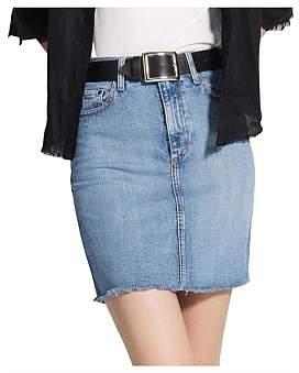 Nobody Denim Siren Skirt Comfort