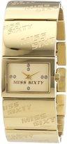 Miss Sixty Women's Quartz Watch HEARTBEAT R0753120503 with Metal Strap