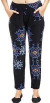 24/7 Comfort Apparel Floral Printed Pants