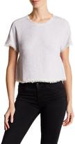 Rebecca Taylor Frayed Tweed Shirt