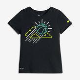 Nike Dry Reign Ball Big Kids' (Girls') Basketball T-Shirt (XS-XL)