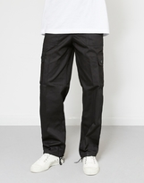 The Idle Man Cargo Trouser Black