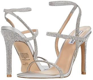 Steve Madden Nectur-R Heeled Sandal (Rhinestone) Women's Shoes