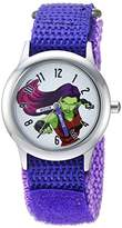 Marvel Girl's 'Guardian' Quartz Stainless Steel and Nylon Casual Watch