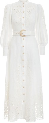 Zimmermann Peggy Embroidery Dress