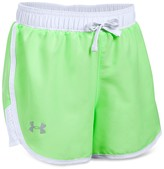 Under Armour Girls' Fast Lane Color Block Shorts