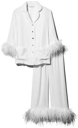 Sleeper Feather-Trim Pajama Set - 100% Exclusive