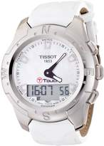 Tissot Women's T-Touch Ii T047.220.46.116.00 Leather Swiss Quartz Watch