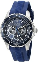 Nautica Men's NAD13522G NST 10 Analog Display Quartz Blue Watch
