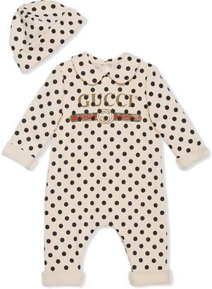 Gucci Kids Polka-Dot Print Two-Piece Set